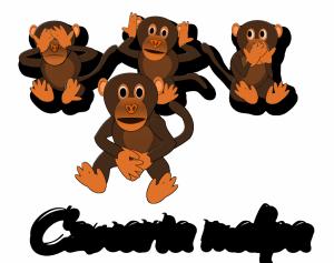 Seksoholizm - 4 małpy